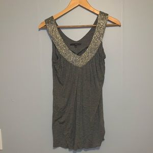 Matty m brand beaded tank top